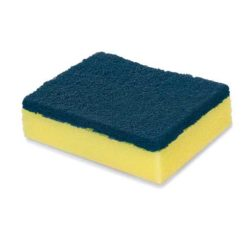 Antibacteria Power Of Blue Sponge & Scrub