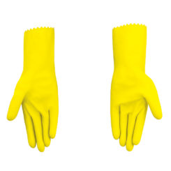 Spotzero Gloves Yallow
