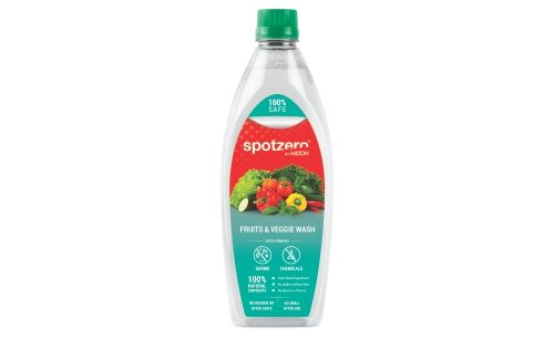 Fruits & Veggie Wash 500 ml Spotzero - Website (508x306 Px) Front